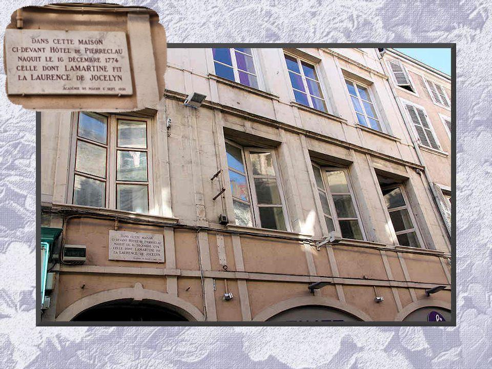 Alphonse de Lamartine, Alphonse Marie Louis de Prat de Lamartine, to give him his full name, was born in Mâcon on 21 October 1790 and died in Paris on
