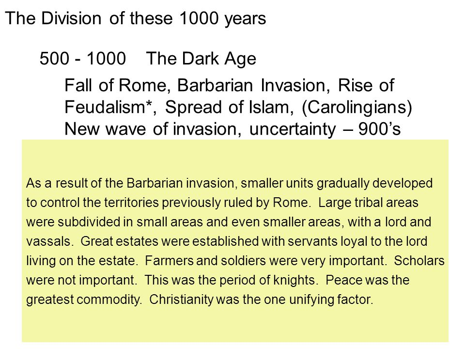The Barbarian Invasion & the Fall of Rome Why did Rome fall.
