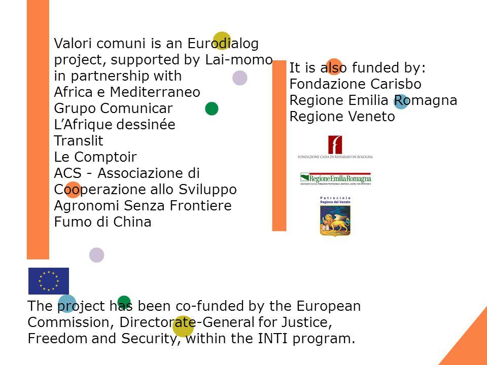 Se mi segui intorno al mondo… Storia: Carl Norac Disegni: Fifi Mukuna Sceneggiatura: Christophe N'galle Edimo Valore: la generosità, la condivisione