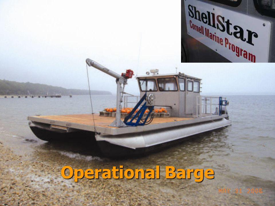 Operational Barge