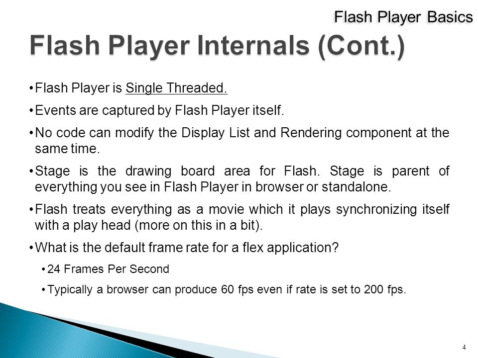 Flash Player is Single Threaded. Events are captured by Flash Player itself.