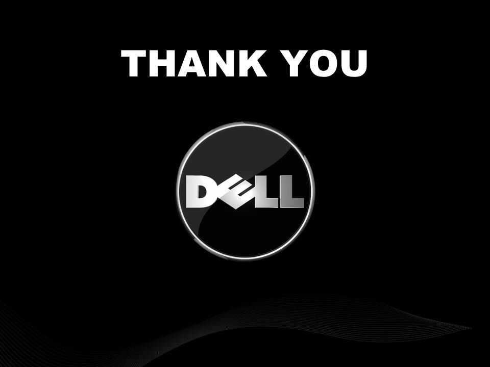 DELL CONFIDENTIAL THANK YOU