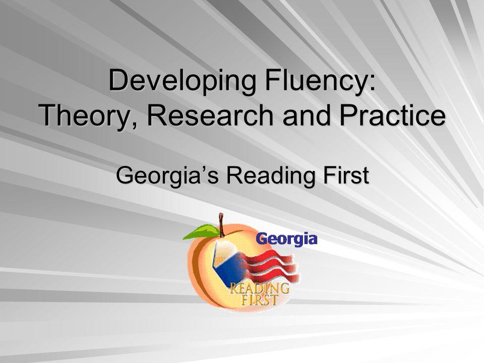 Fluency Development Lesson 15 minutes 4 times per week: 1.