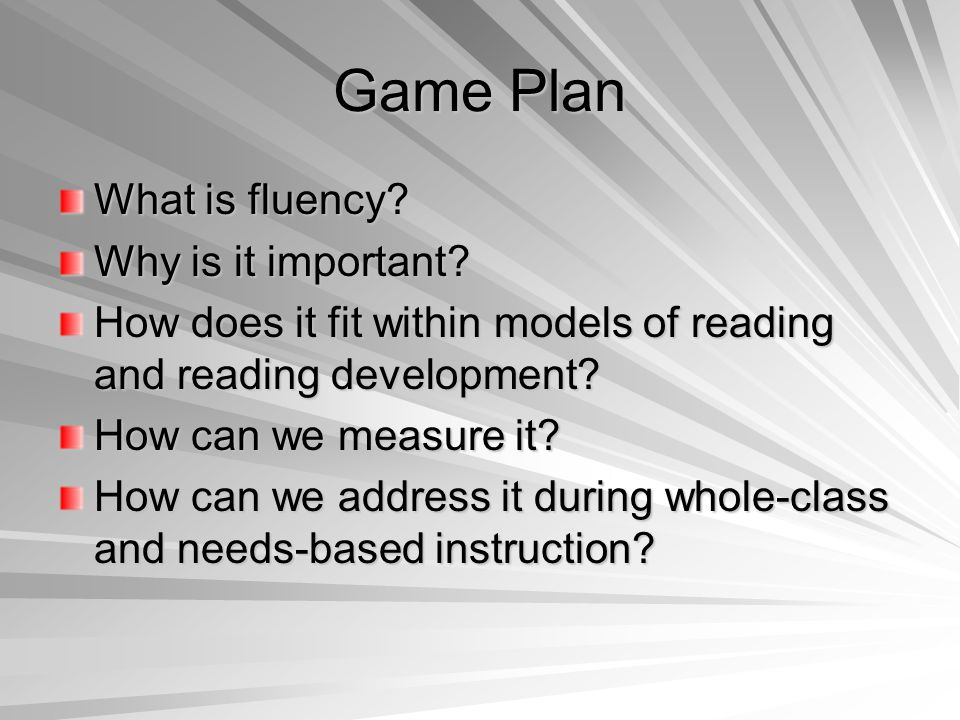 How might these automaticity and fluency assessments work together as a system for monitoring student achievement.