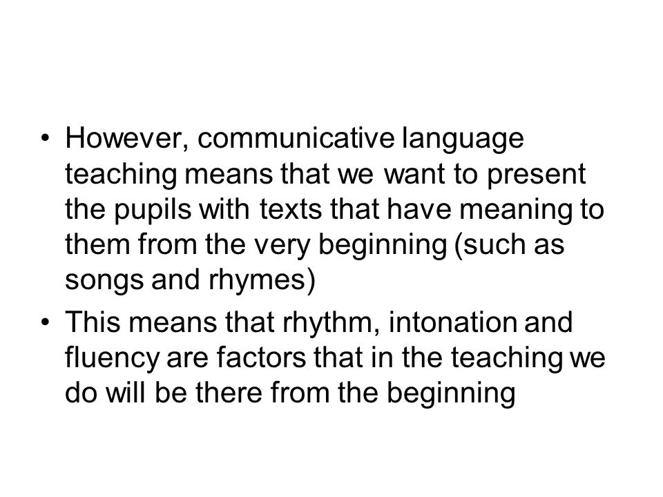 Note particularly that the pitch tends to stay even (and relatively high) from the first stressed syllable until the tonic syllable In Norwegian, every stressed syllable tends to be emphasised by a pitch-change from the speaking tone, but this is not the case in English – stressed syllables except for the first one and the tonic one tend to have the same pitch as the surrounding unstressed ones.