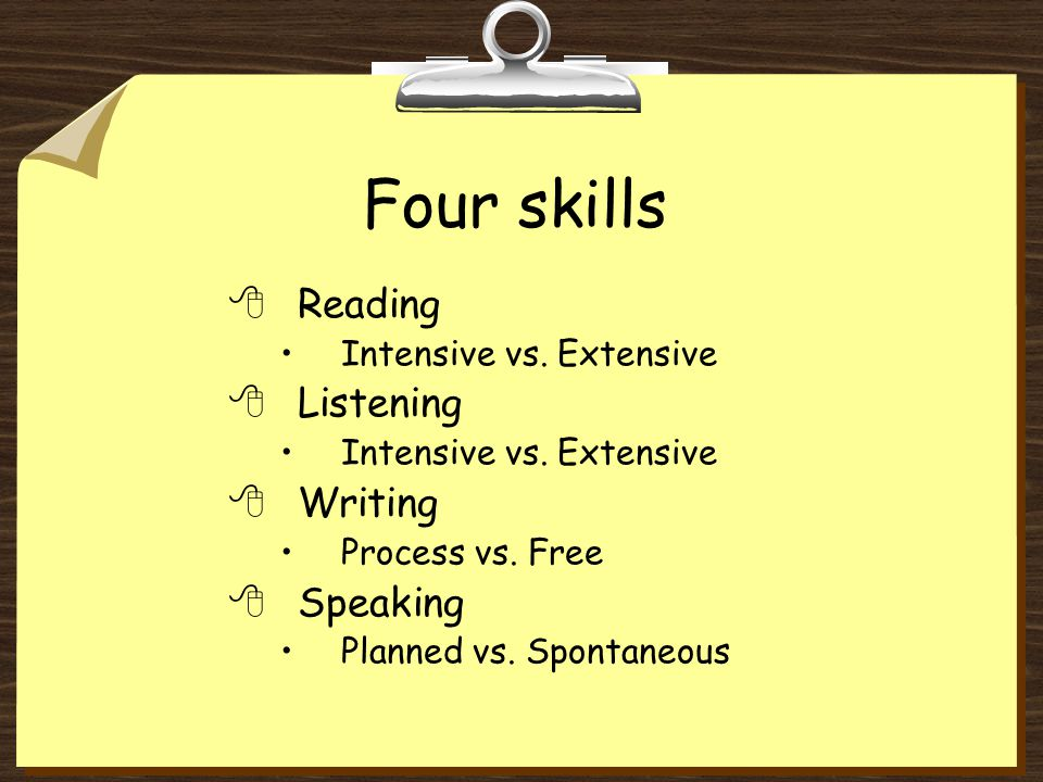Task-based methods 8Recommend fluency activities first 8Then follow up with accuracy activities