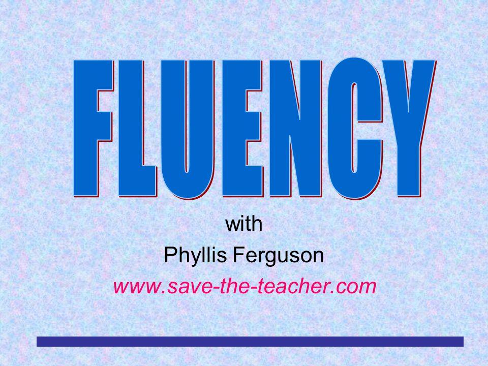 with Phyllis Ferguson www.save-the-teacher.com