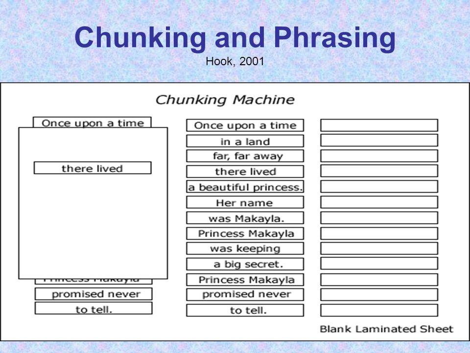 Chunking and Phrasing Hook, 2001