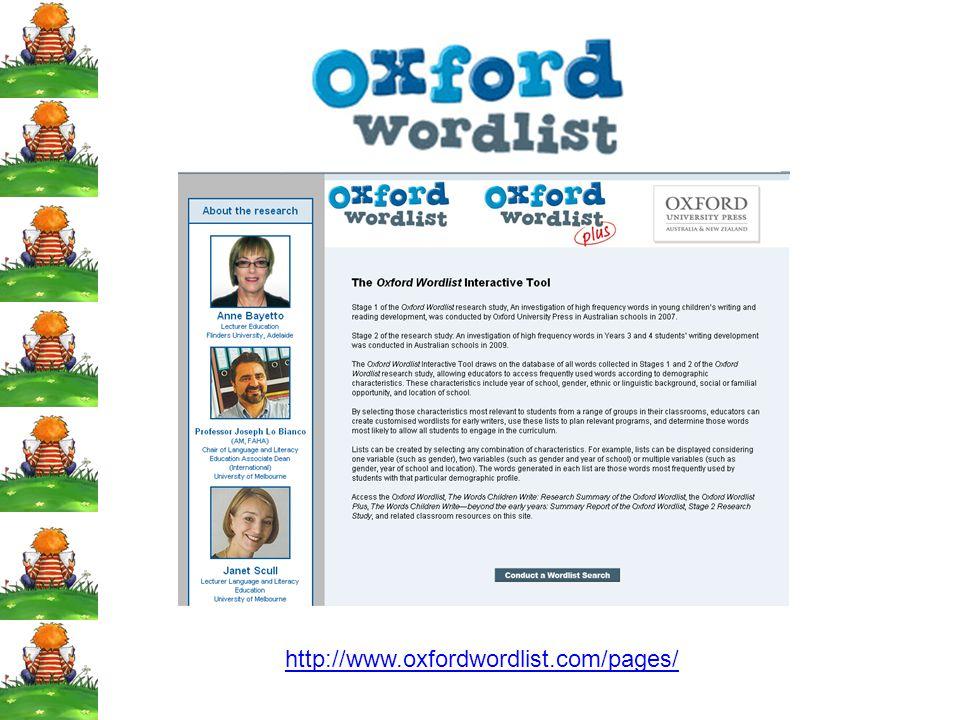 http://www.oxfordwordlist.com/pages/