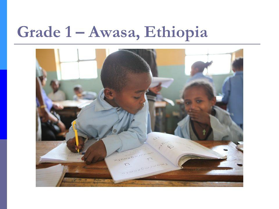 Grade 1 – Awasa, Ethiopia