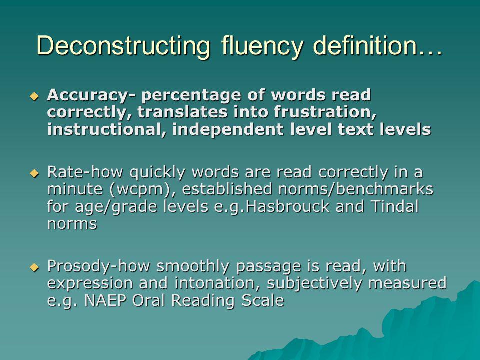 Prosody and prosodic reading….