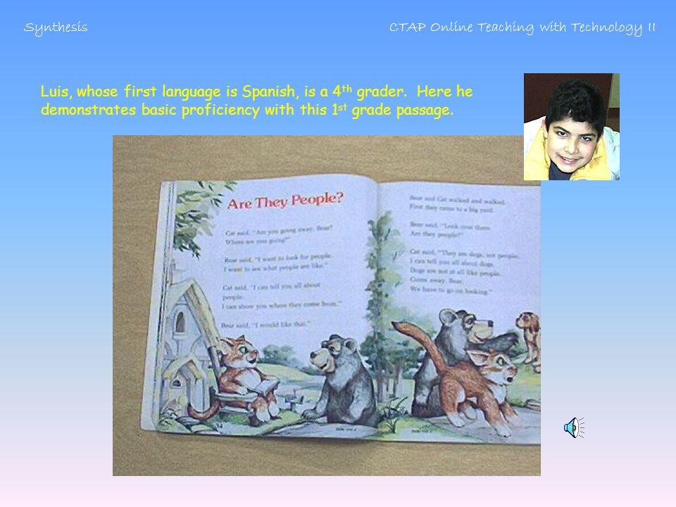The culminating activity of this lesson is cold reading * *After 20-30 sessions of guided practice of guided choral reading, cold reading is when students read a passage entirely independently.