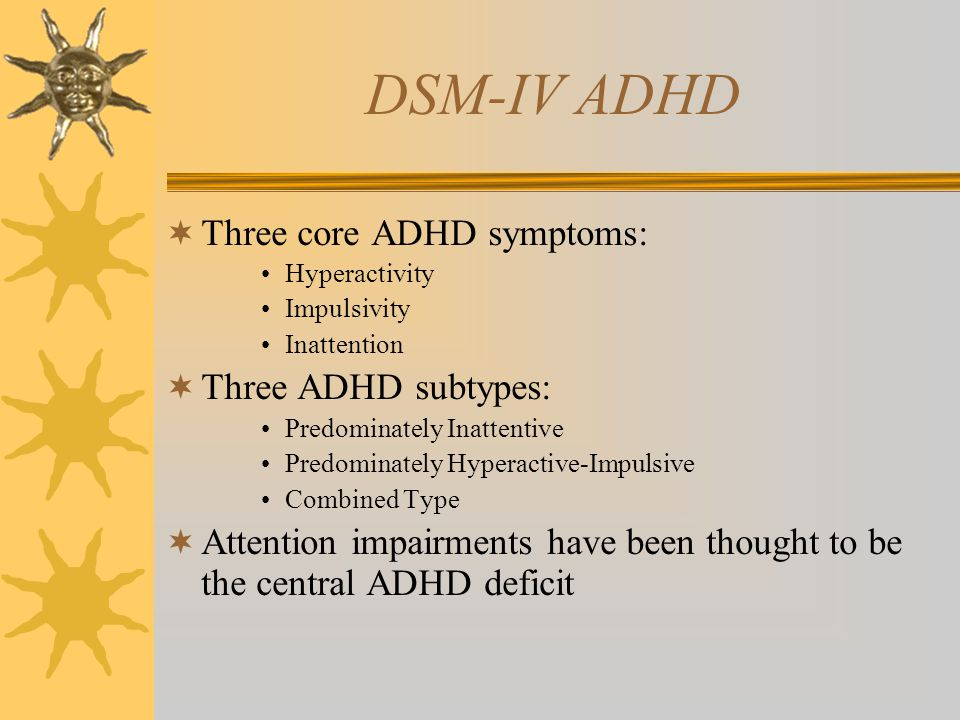 Why a new theory on ADHD.