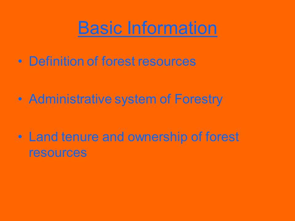 Field inventory /investigation of forestland