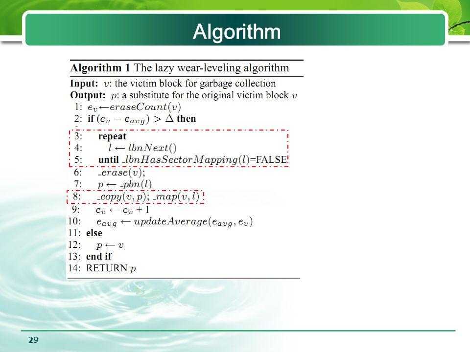 29 Algorithm
