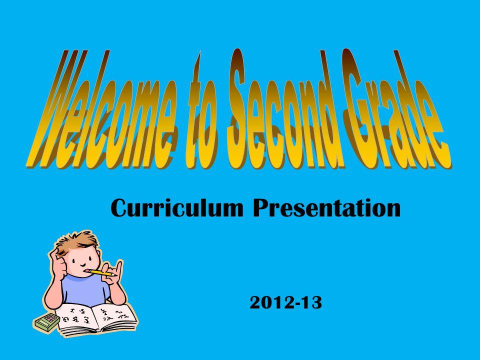 Curriculum Presentation 2012-13