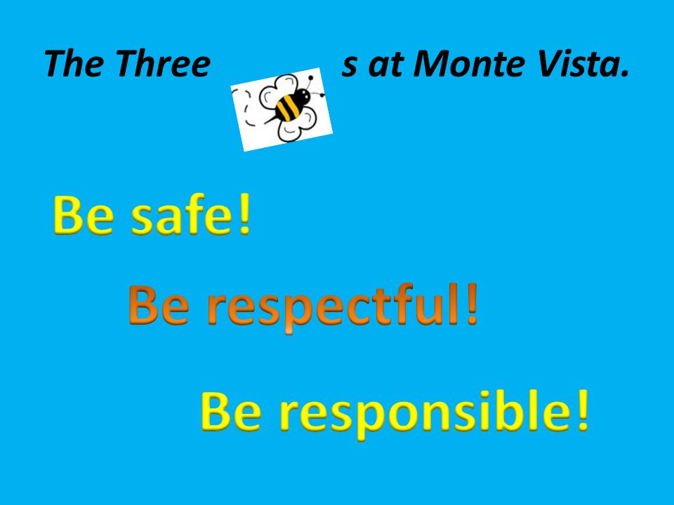 The Three s at Monte Vista.