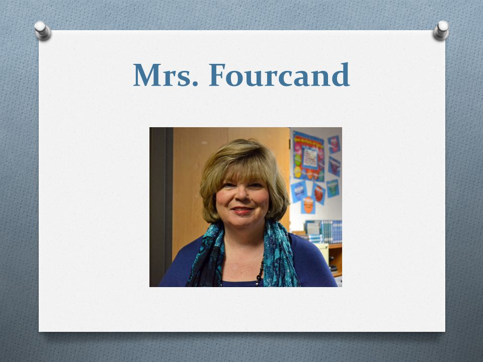 Mrs. Fourcand