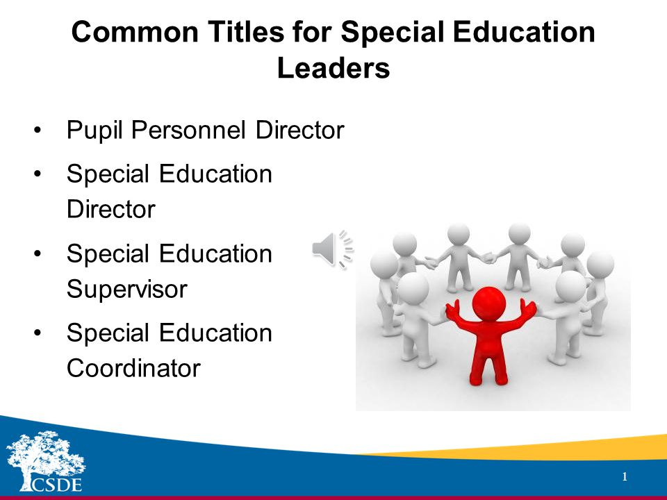 Sub-heading ADMINISTRATOR EVALUATION AND SUPPORT SYSTEM Special Education Leader Proposed Adaptations