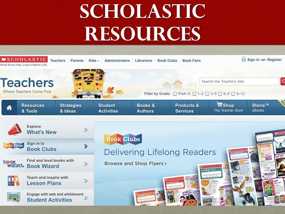 SCHOLASTIC RESOURCES