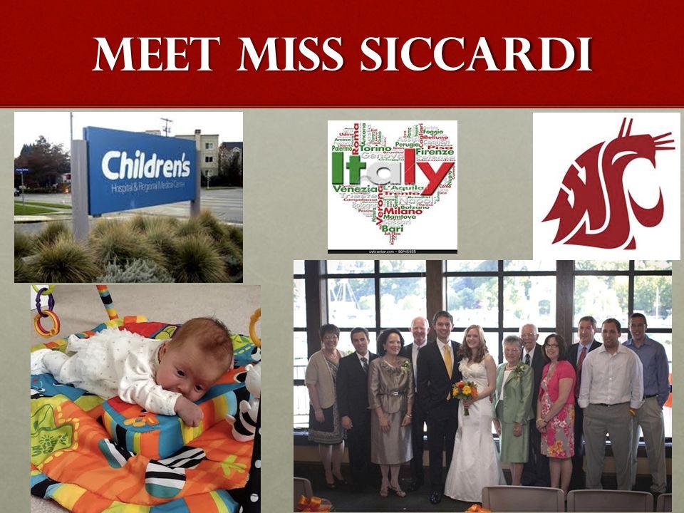 MEET MISS SICCARDI