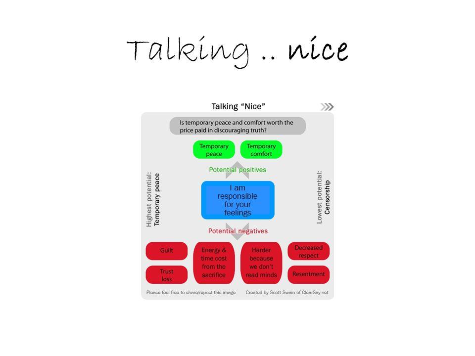 Talking.. nice