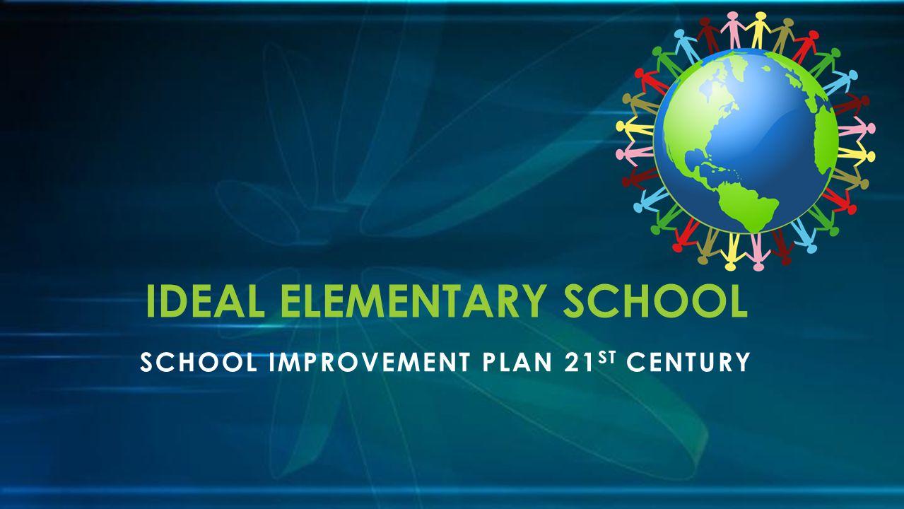 SCHOOL IMPROVEMENT PLAN 21 ST CENTURY IDEAL ELEMENTARY SCHOOL