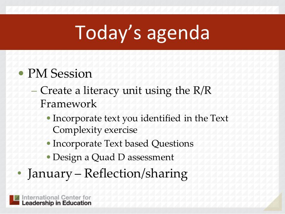 Assessment Targets for Informational Text 8.Key details – DOK 1,2 9.