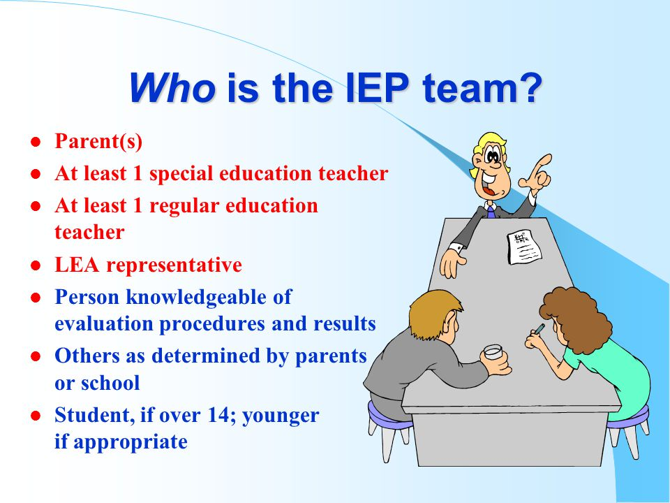 Effective BIPs l Clear definitions of behavior l Appropriate consequences l Addresses the environment, including teacher and peer behavior l Evaluation plan