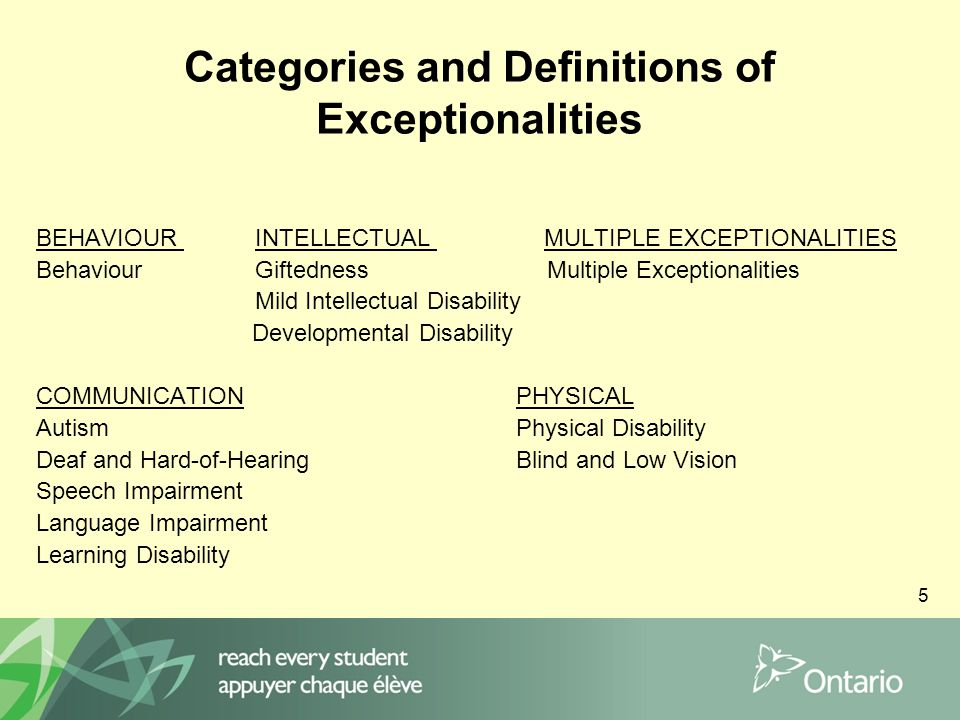 26 Alternative Learning Expectations Refer to learning related to skill development in areas not represented in the Ontario curriculum policy documents Expectations should represent a specific program designed and delivered to the student Possible skill areas include: –Orientation and mobility –Personal care –Anger management –Social skills