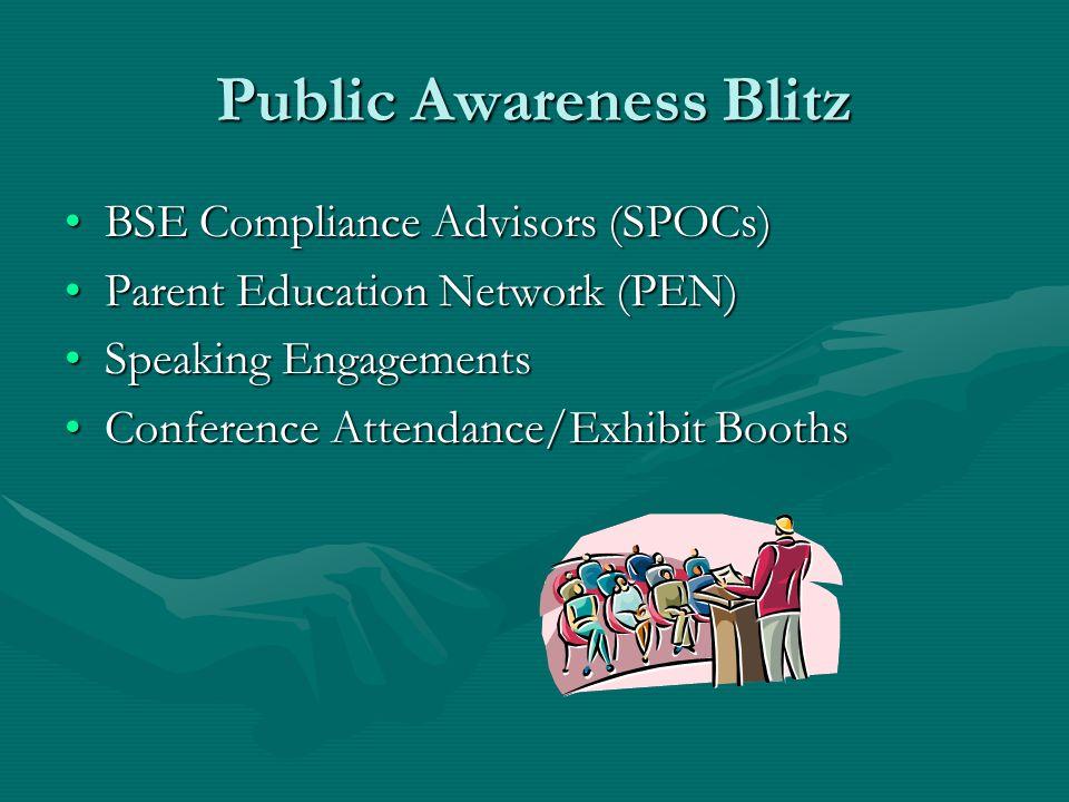 Public Awareness Blitz WebsiteWebsite PennLinkPennLink Special Education Dispute Resolution ManualSpecial Education Dispute Resolution Manual ODR bookmarkODR bookmark BrochureBrochure