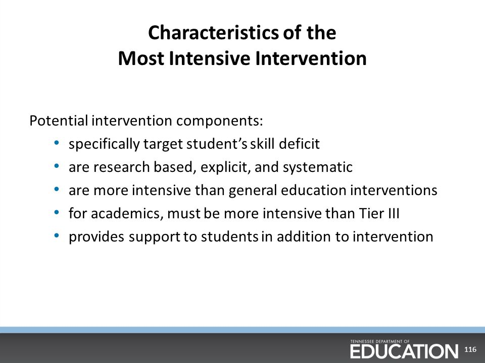 Link MAG to Characteristics of Intervention This is not added into Easy IEP 115