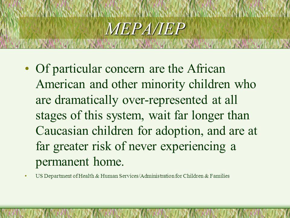 Standard Practice Before MEPA-IEP.