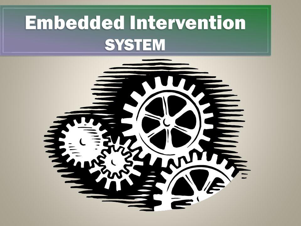 Embedded Intervention SYSTEM