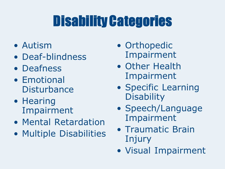 The IEP Process Determining eligibility The Evaluation Team answers two questions: 1.Does the child have a disability.