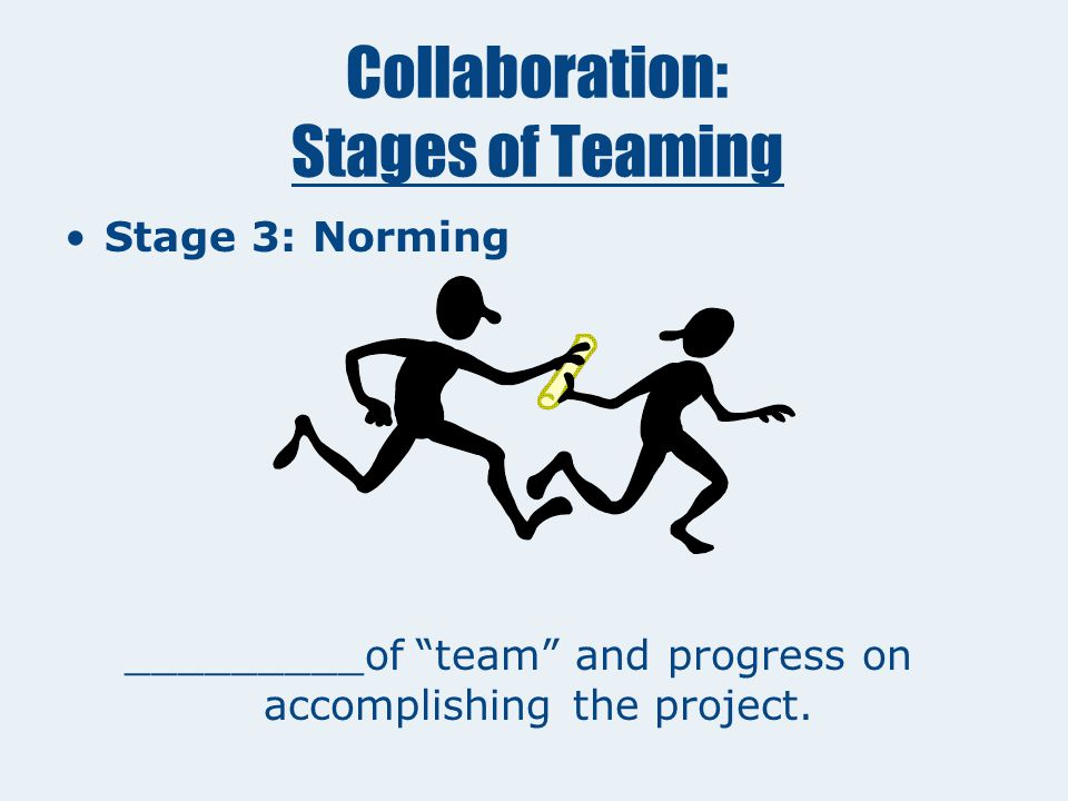  Stage 2: Storming Resistance to the task and fluctuations in attitude about the team.