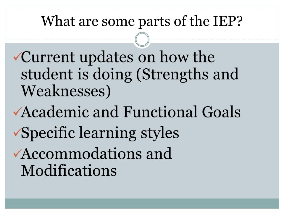 Do you attend and participate in your own IEP meetings?