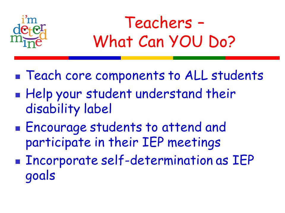 Teachers – What Can YOU Do.