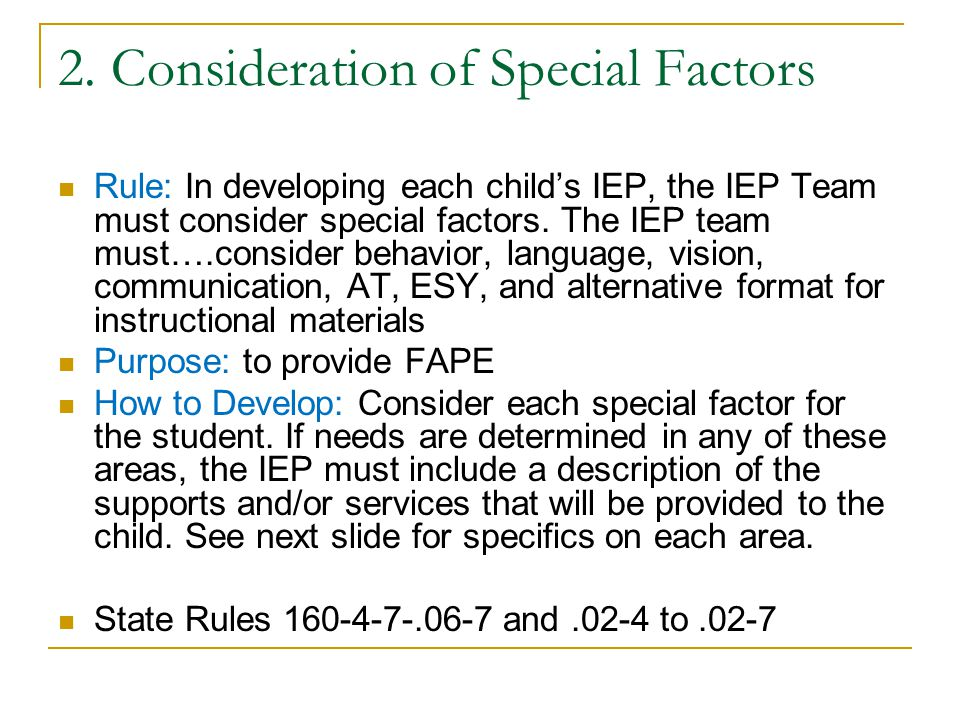 Why are regular education teachers and their input important in developing IEPs.