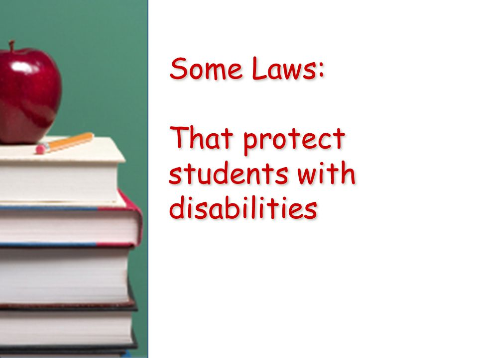 NCLB No Child Left Behind / 2002 Federal Education Law.