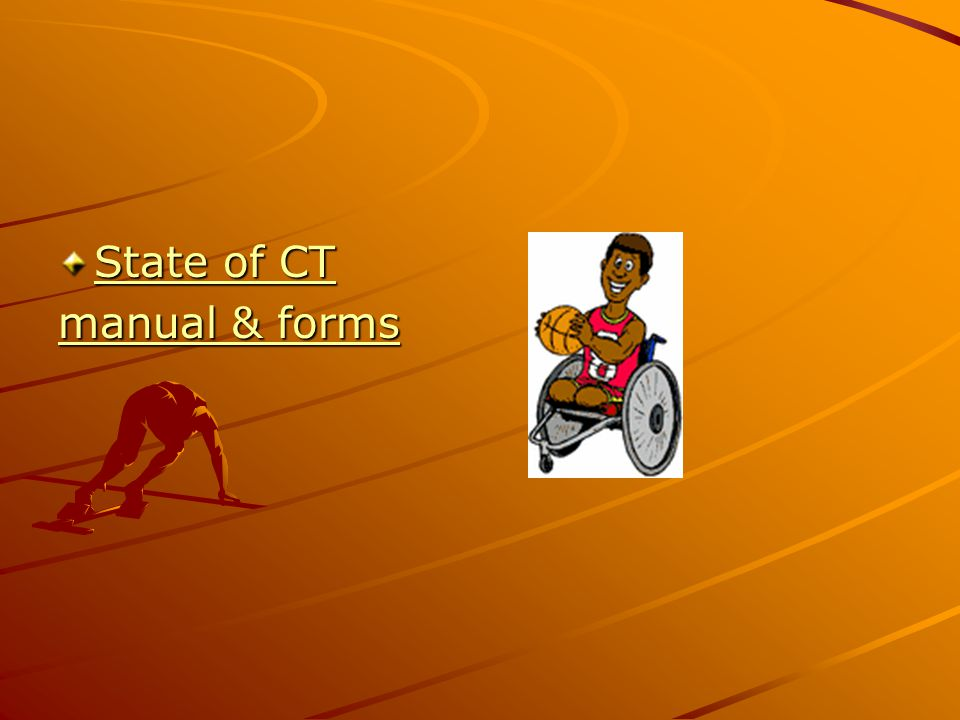 State of CT State of CT manual & forms manual & forms
