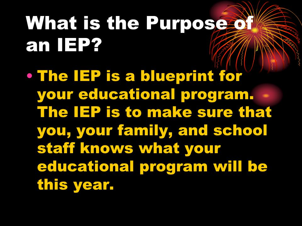 Where is the IEP Developed.