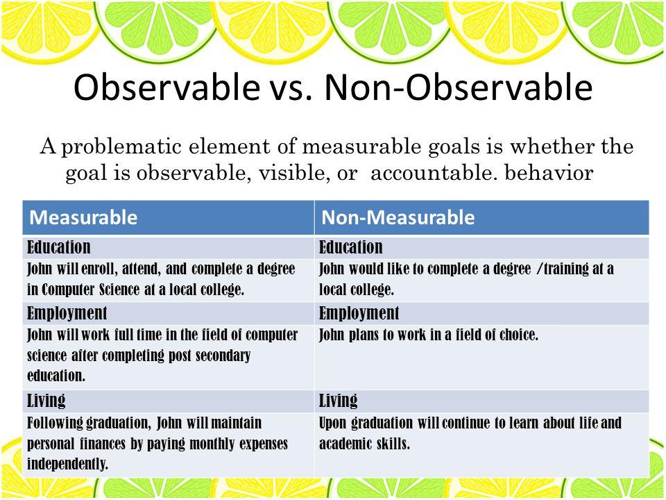 Observable vs.