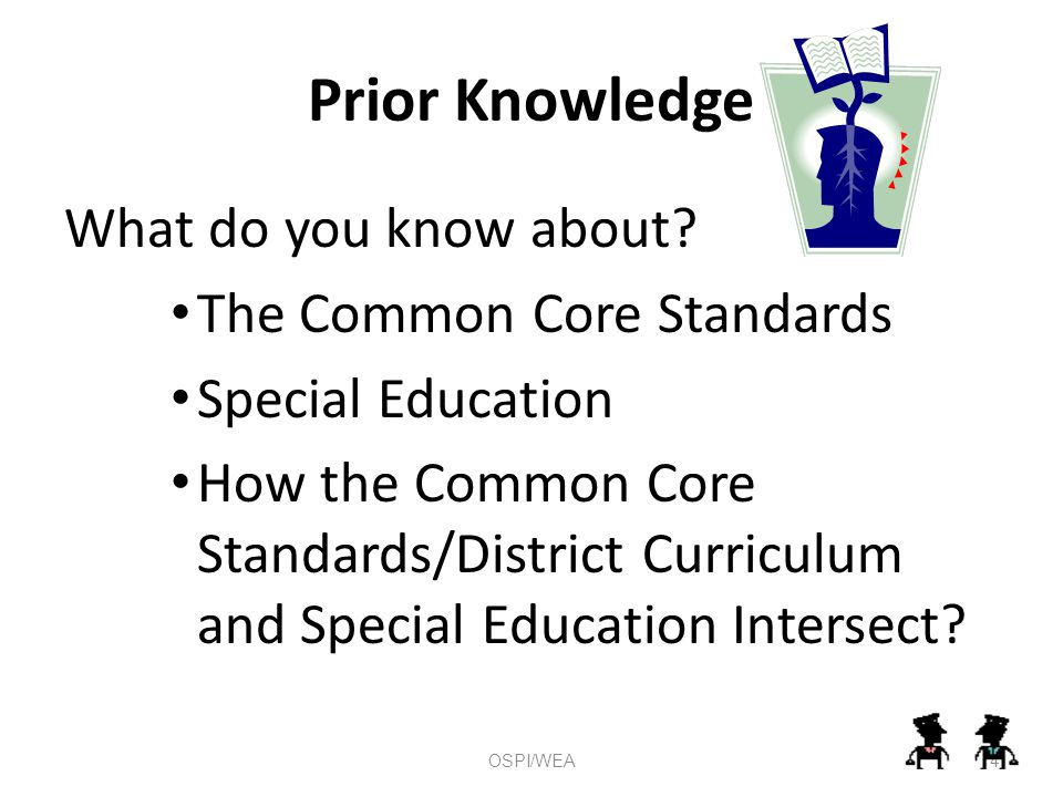 Prior Knowledge What do you know about.