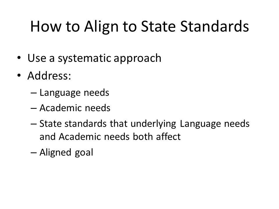 Language Skill addressed-Grade level Language area addressed: Academic area addressed: Content Standard:Aligned AAC goal Present level of Performance: