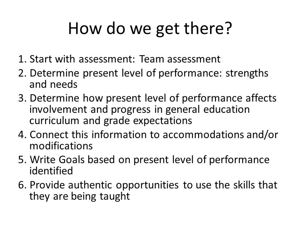 Areas to address Operational competence: Technical skills required to operate a system - i.e.