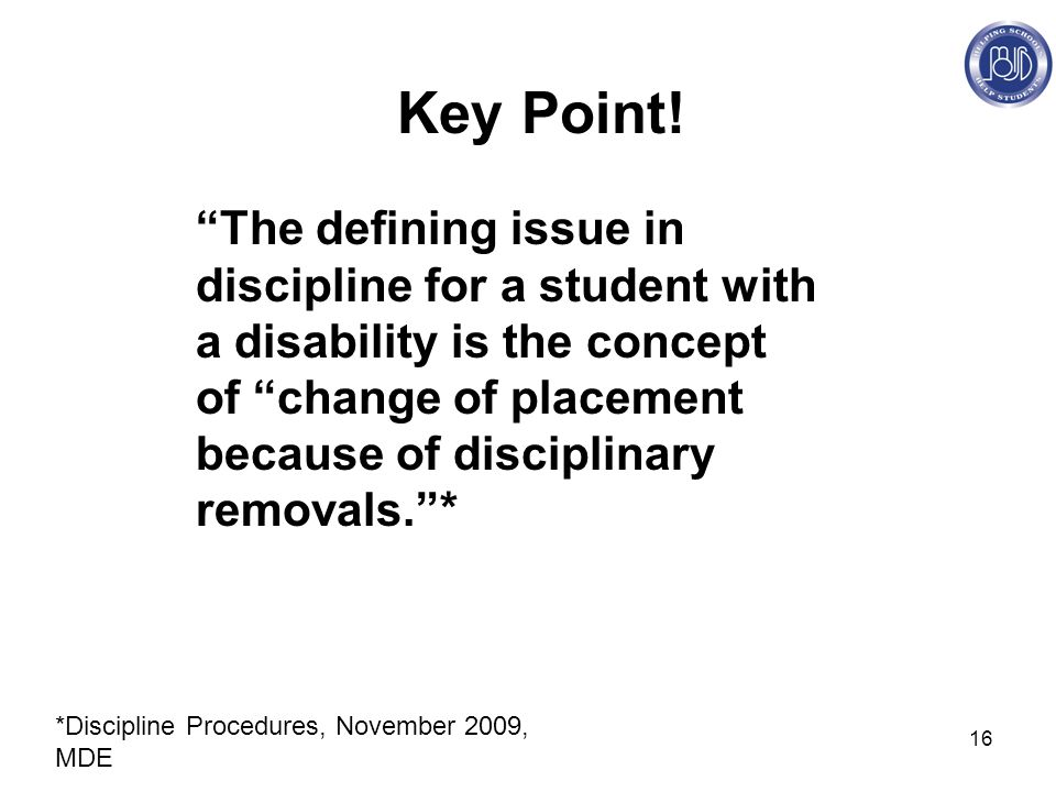 16 Key Point.