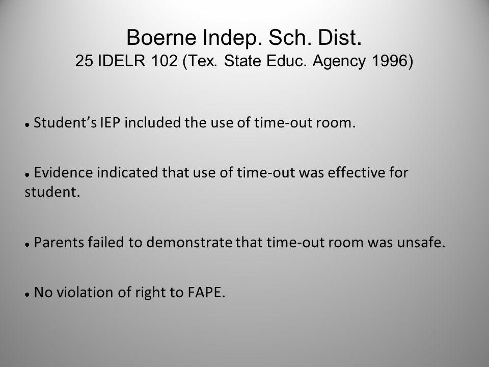 Ferndale Public Schools 51 IDELR 233 (Mich.State Educ.