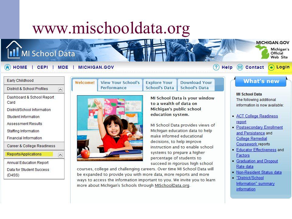 www.mischooldata.org