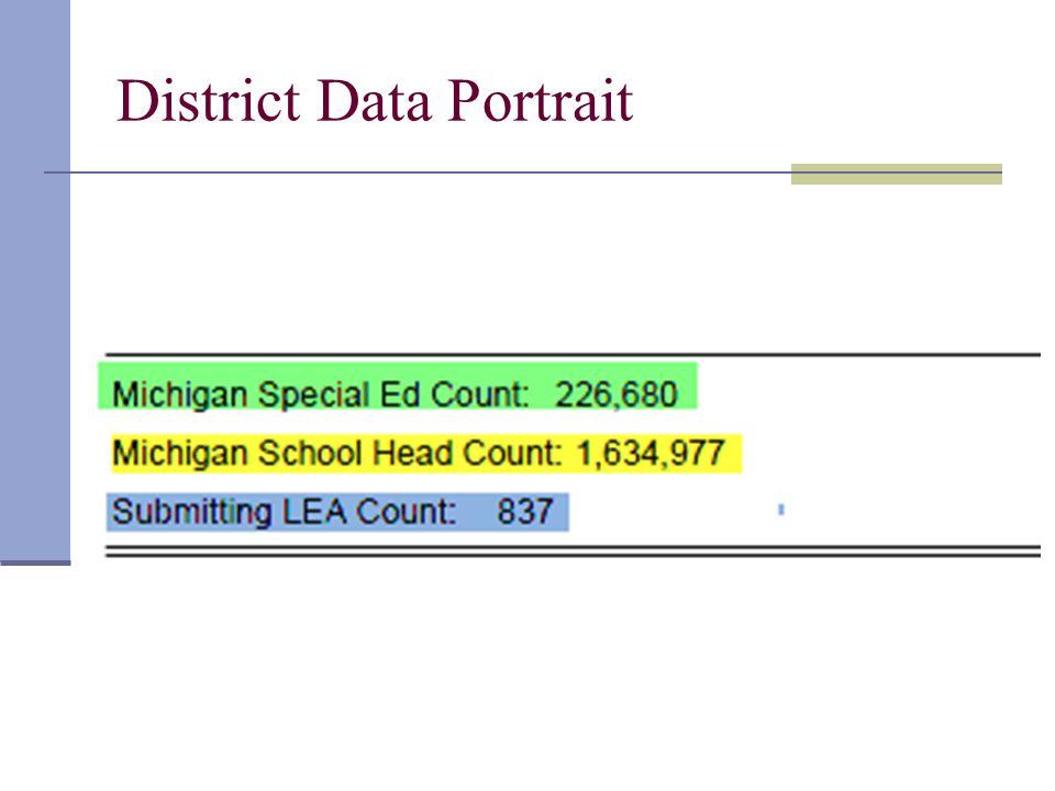 District Data Portrait